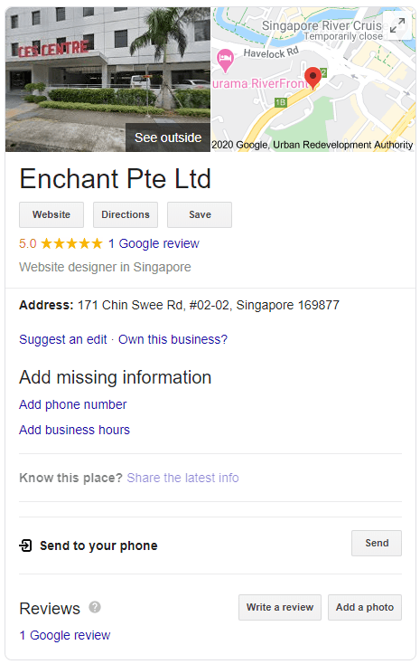 Google Business Enchant